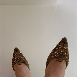 jessica Shoes - Vintage Mule paillette